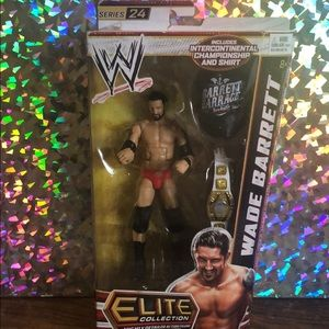 Rare WWE Wade Barrett Rumbler MATTEL WRESTLING FIGURE